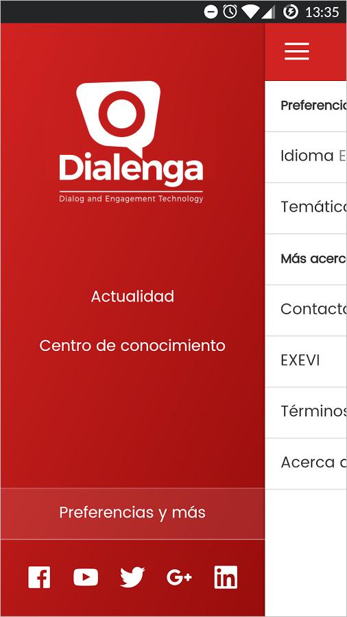 Comunicación Interna (Preferencias de Dialenga)