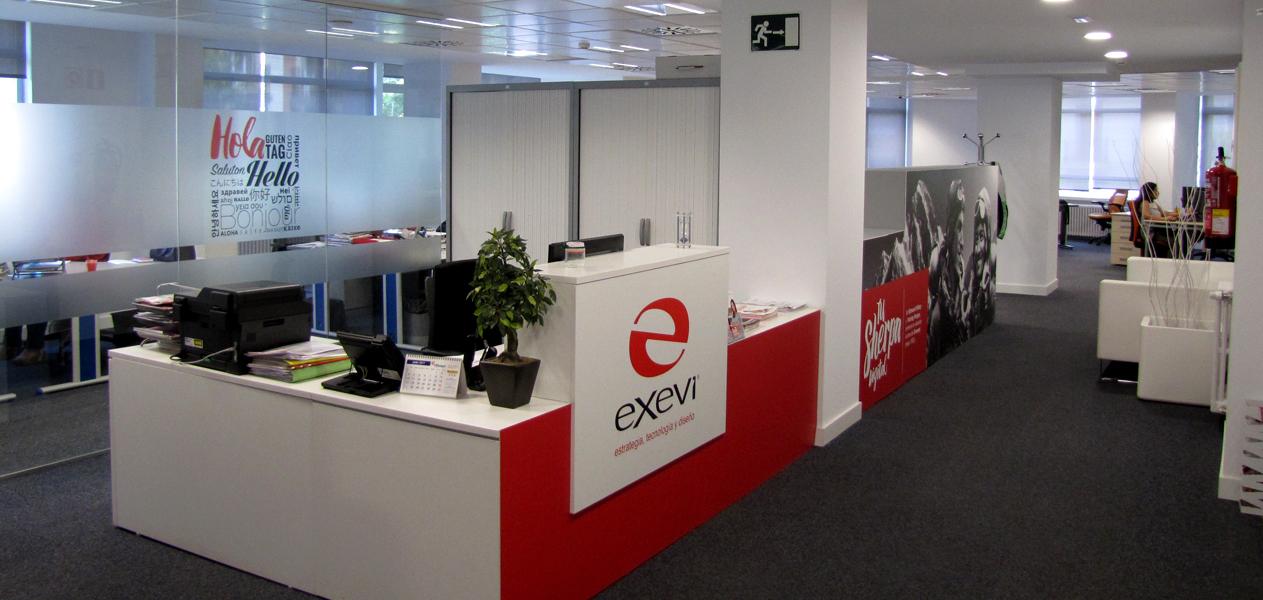 Oficinas EXEVI - Recepción