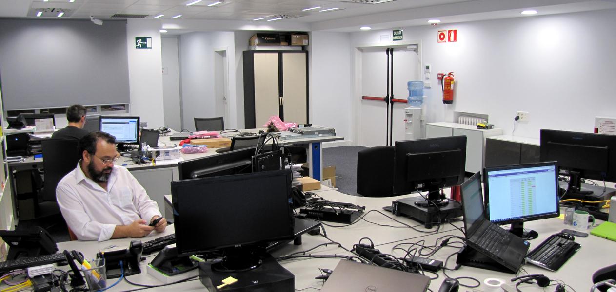 Oficinas EXEVI - Sistemas