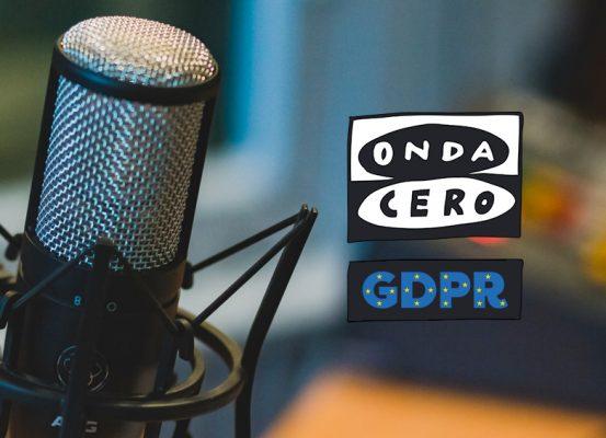 Reglamento General de Protección de Datos. Entrevista Radio Onda Cero