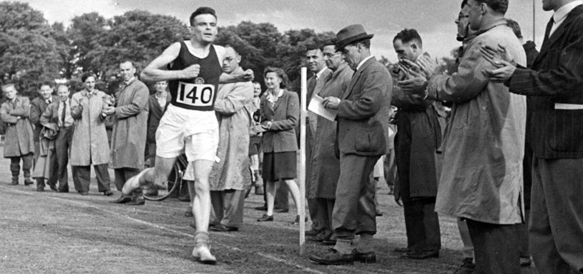 Turing corriendo durante el NPL Sports Day