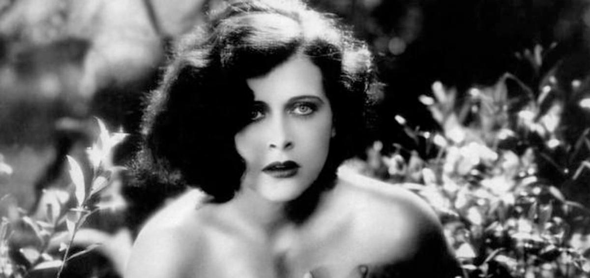 Hedy Lamarr en una escena de Éxtasis