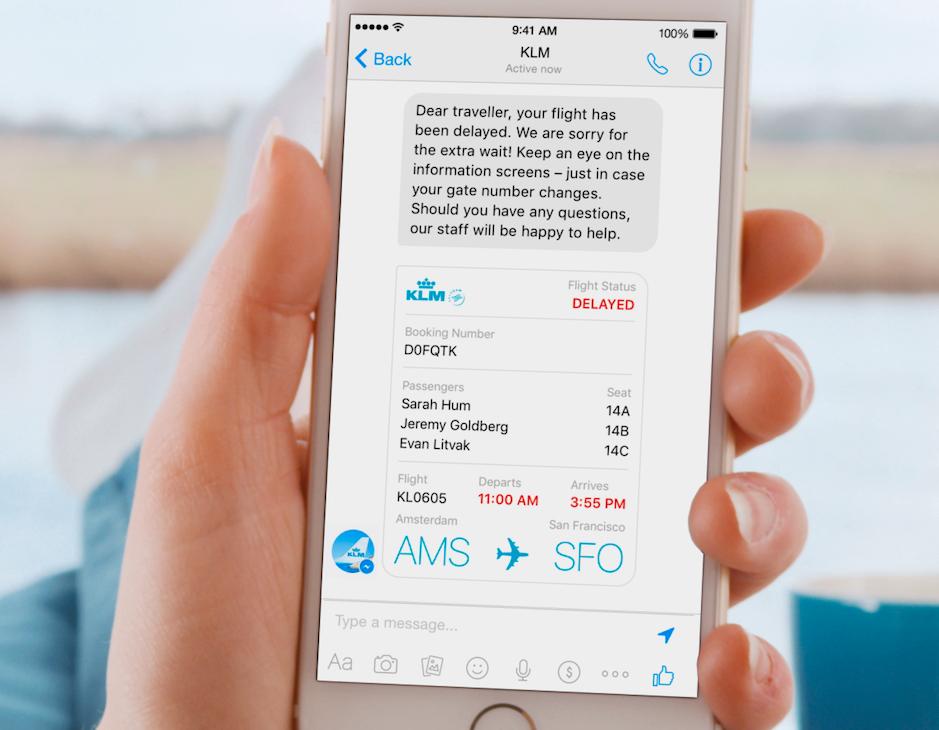 App de KLM
