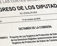 Las Cortes aprueban la nueva LOPD-GDD con polémica incluida