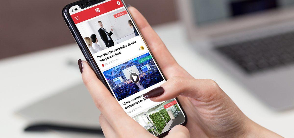 La app de Dialenga conjuga potencia y sencillez, aportando la información más actualizada de la compañía.