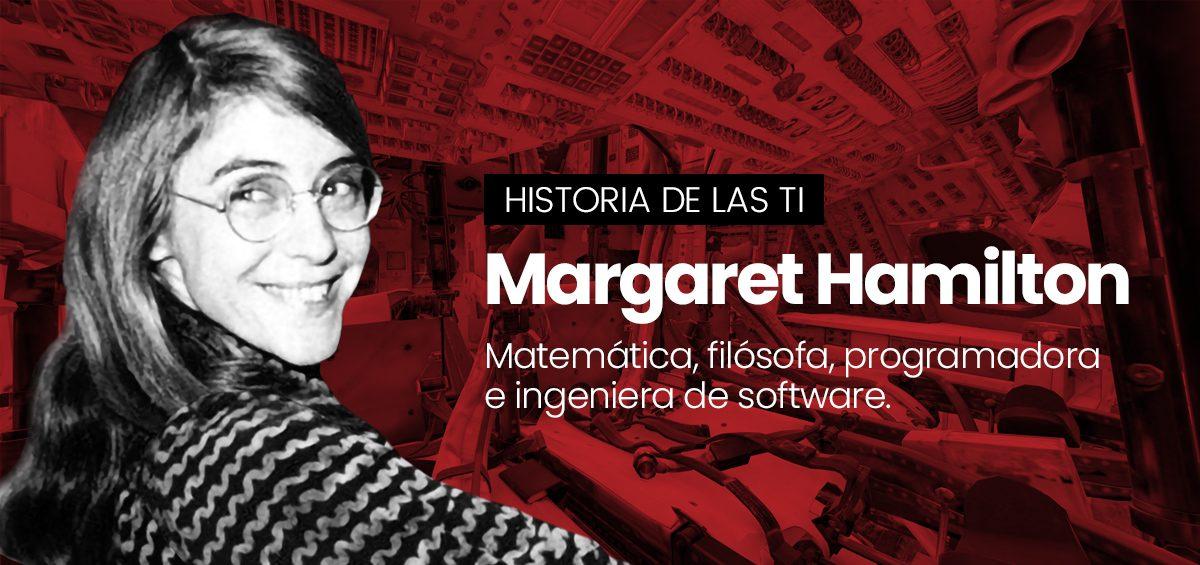 Margaret Hamilton, la ingeniera sin la cual la humanidad no