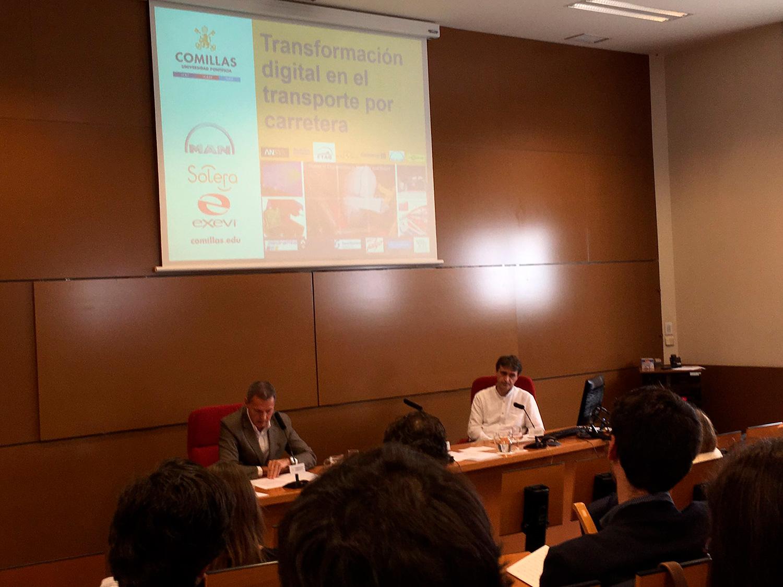 Presentación del evento en las instalaciones de la Universidad Pontificia de Comillas
