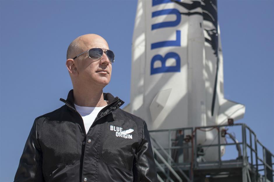 Blue Origin, el «ojito derecho» de Jeff Bezos