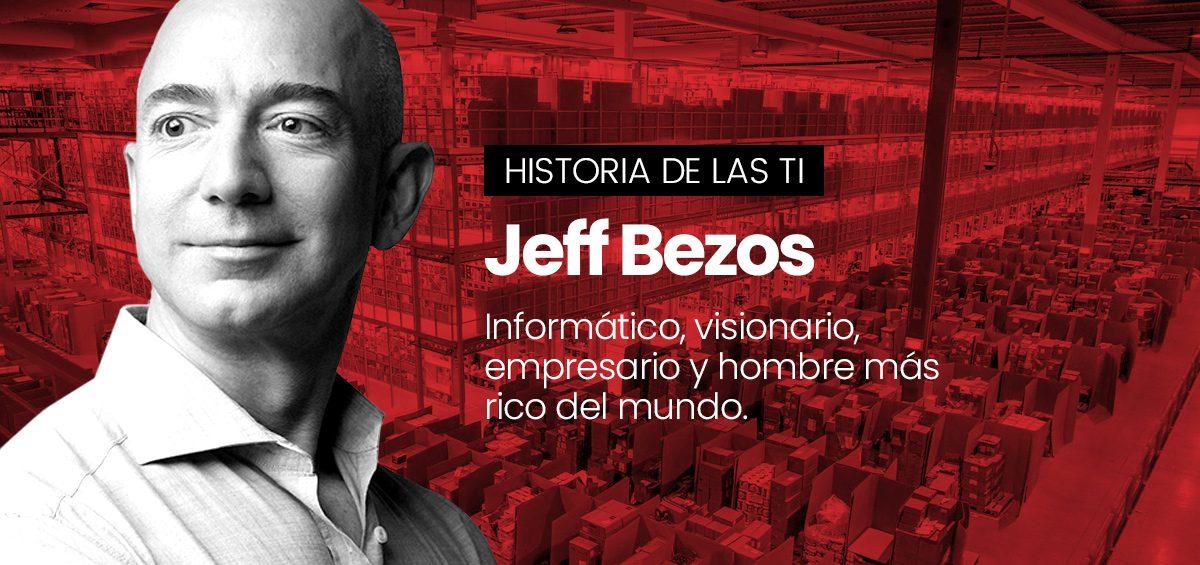 Jeff Bezos, el bróker que se coronó rey del e-commerce