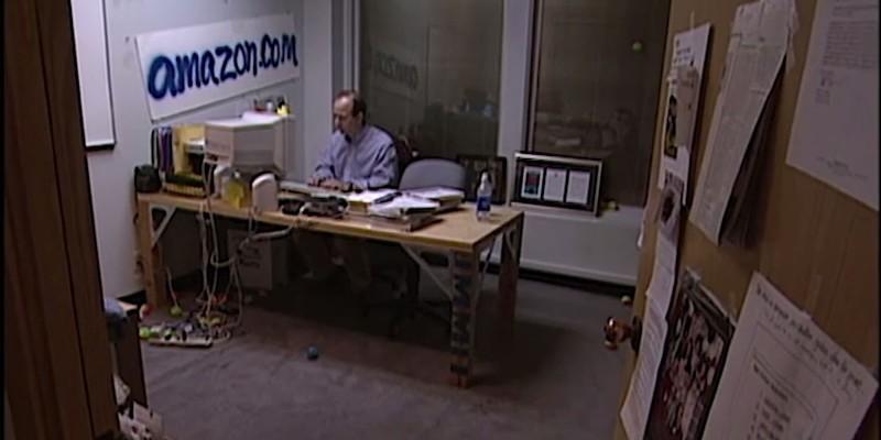 Primera oficina de Amazon